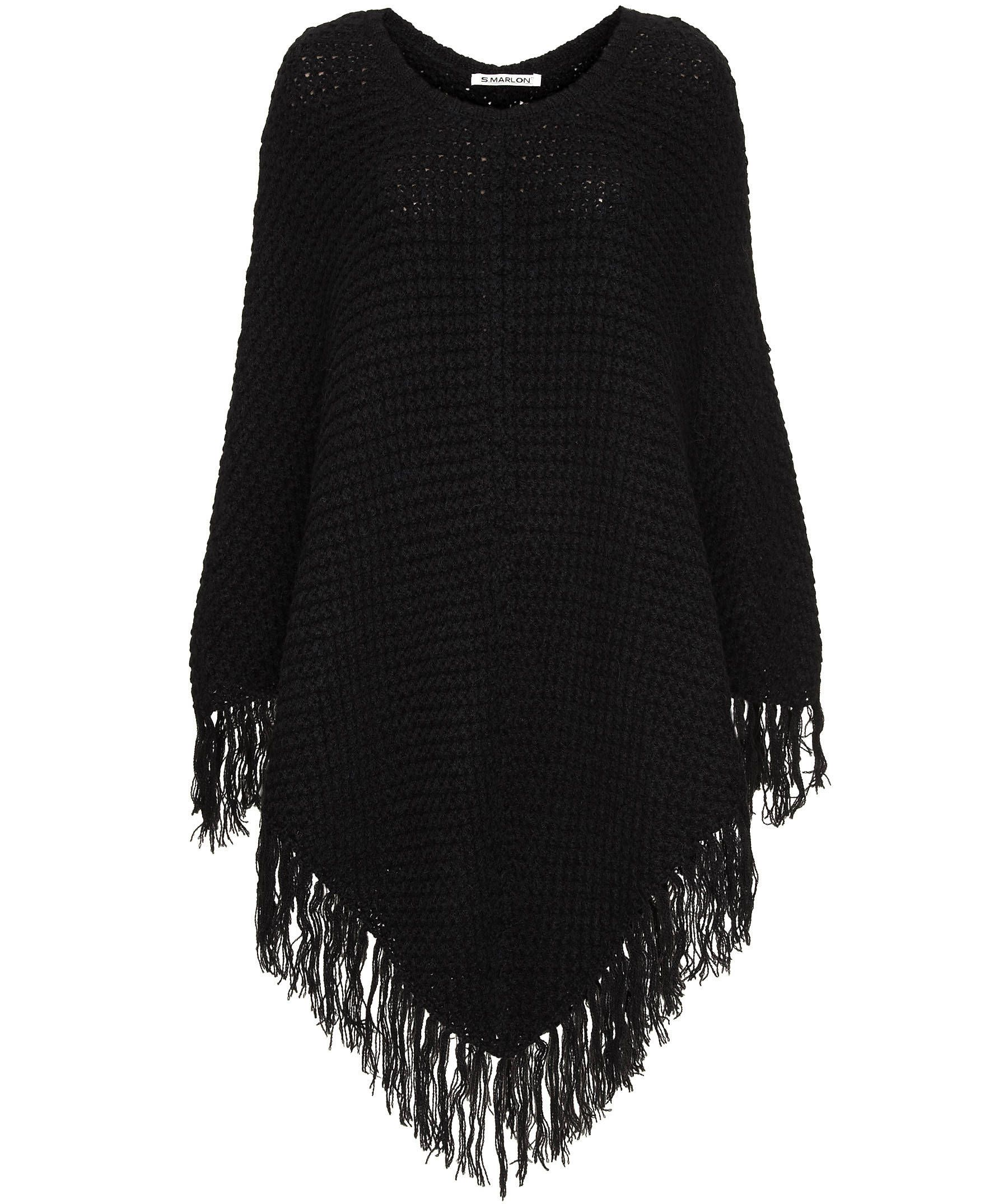 Süßer Damen Poncho #fashion #engelhorn #fall #trends