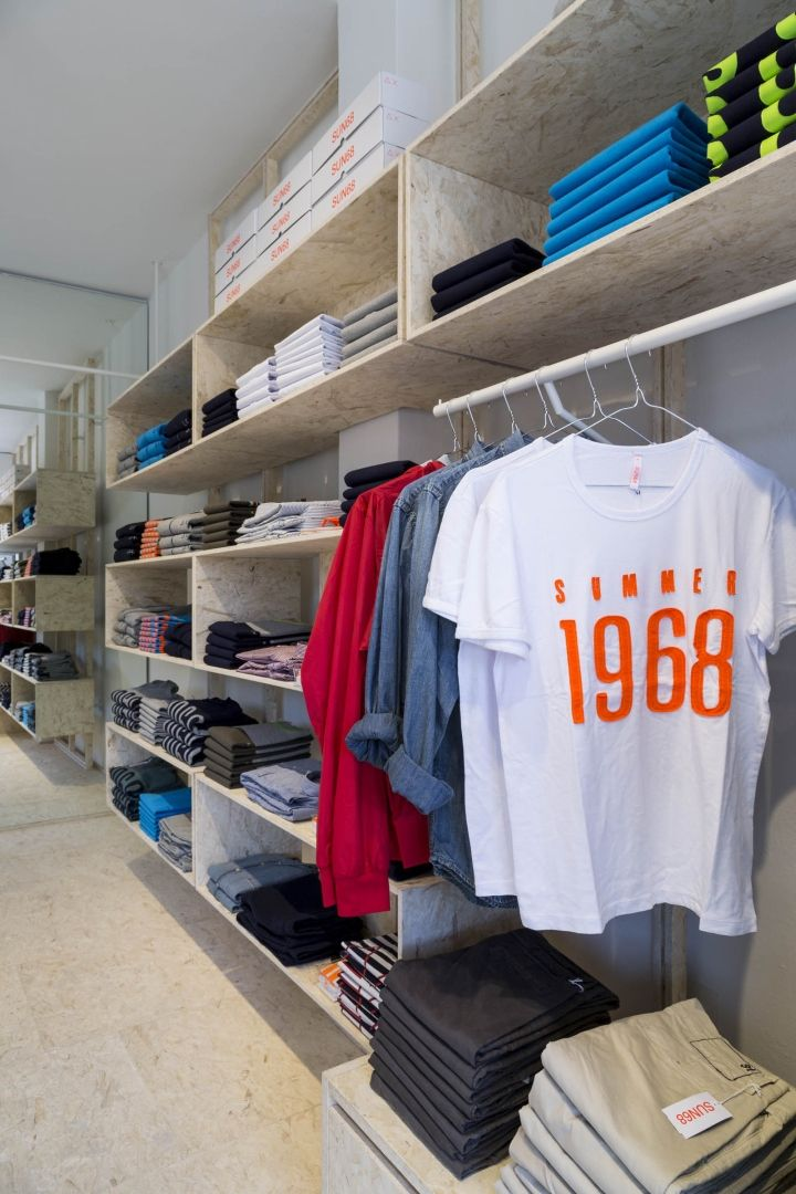 SUN68 stores by C&P Architetti, Italy » Retail Design Blog