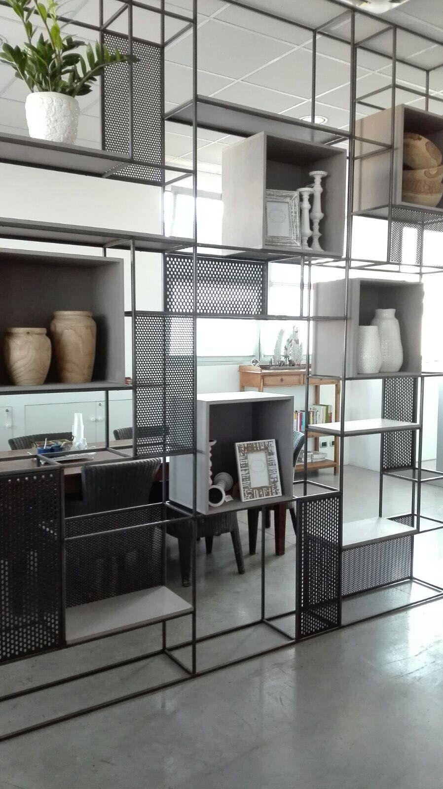 Mobili In Ferro Design.Lavorazioni In Ferro Furniture Design Scaffali Casa