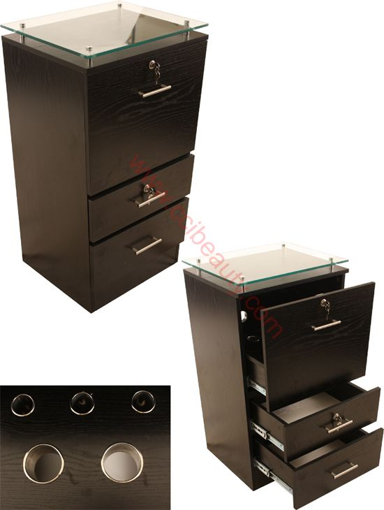 Styling Cabinet (Black) | salon suites | Pinterest | Salons, Spa ...