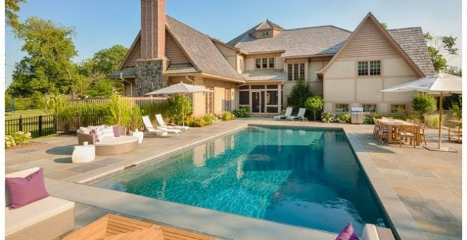 Pin de mar gj en dormitorio de ni os backyard pool for Diseno de casas con piscina interior