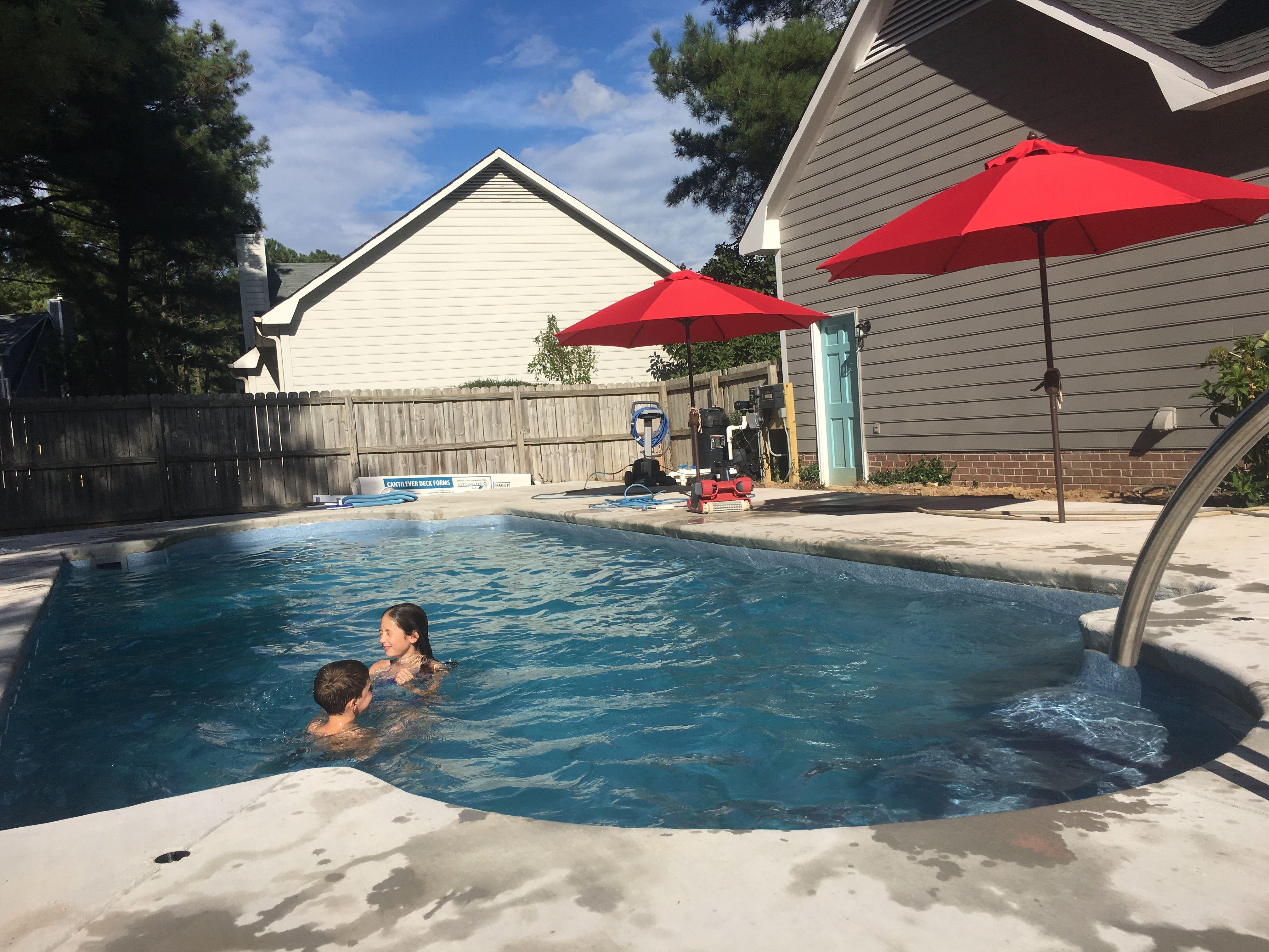 Inground Pool Swimming