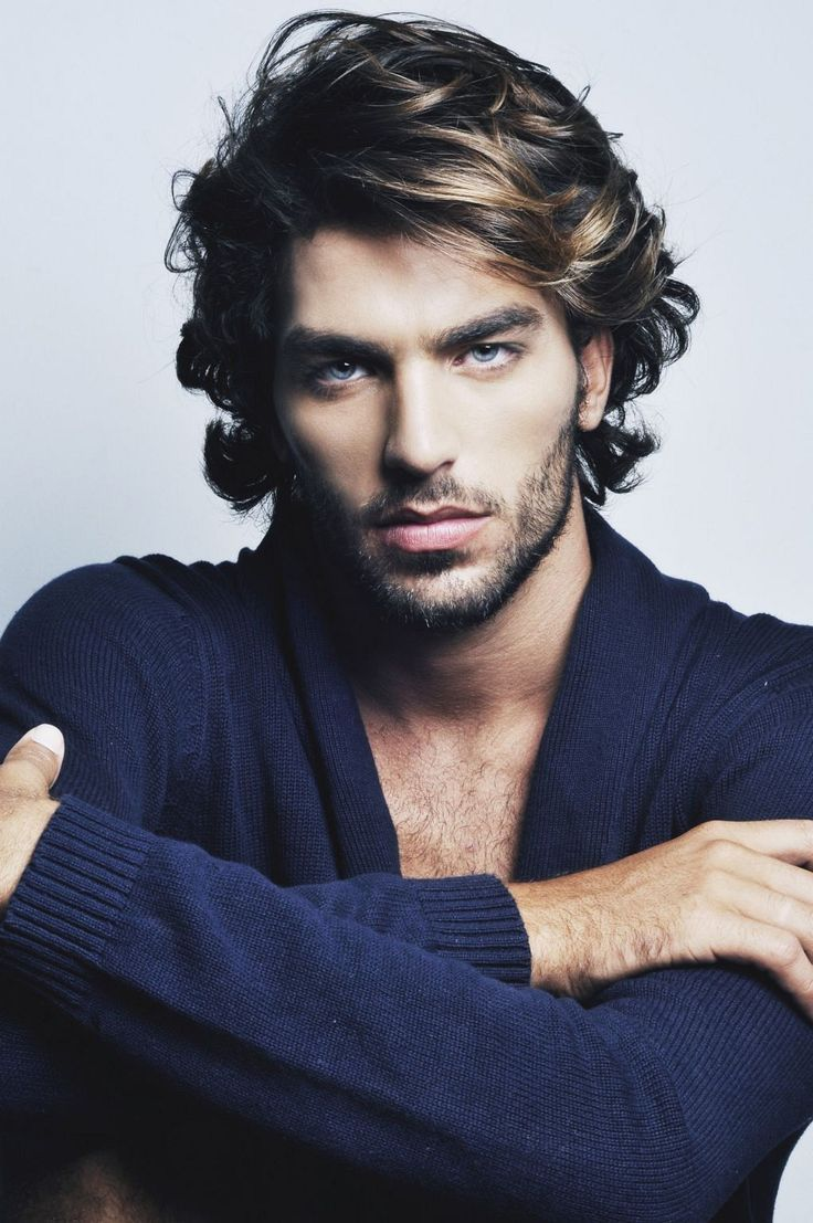 40 Hairstyles For Thick Hair Men S Medium Length Hair Men