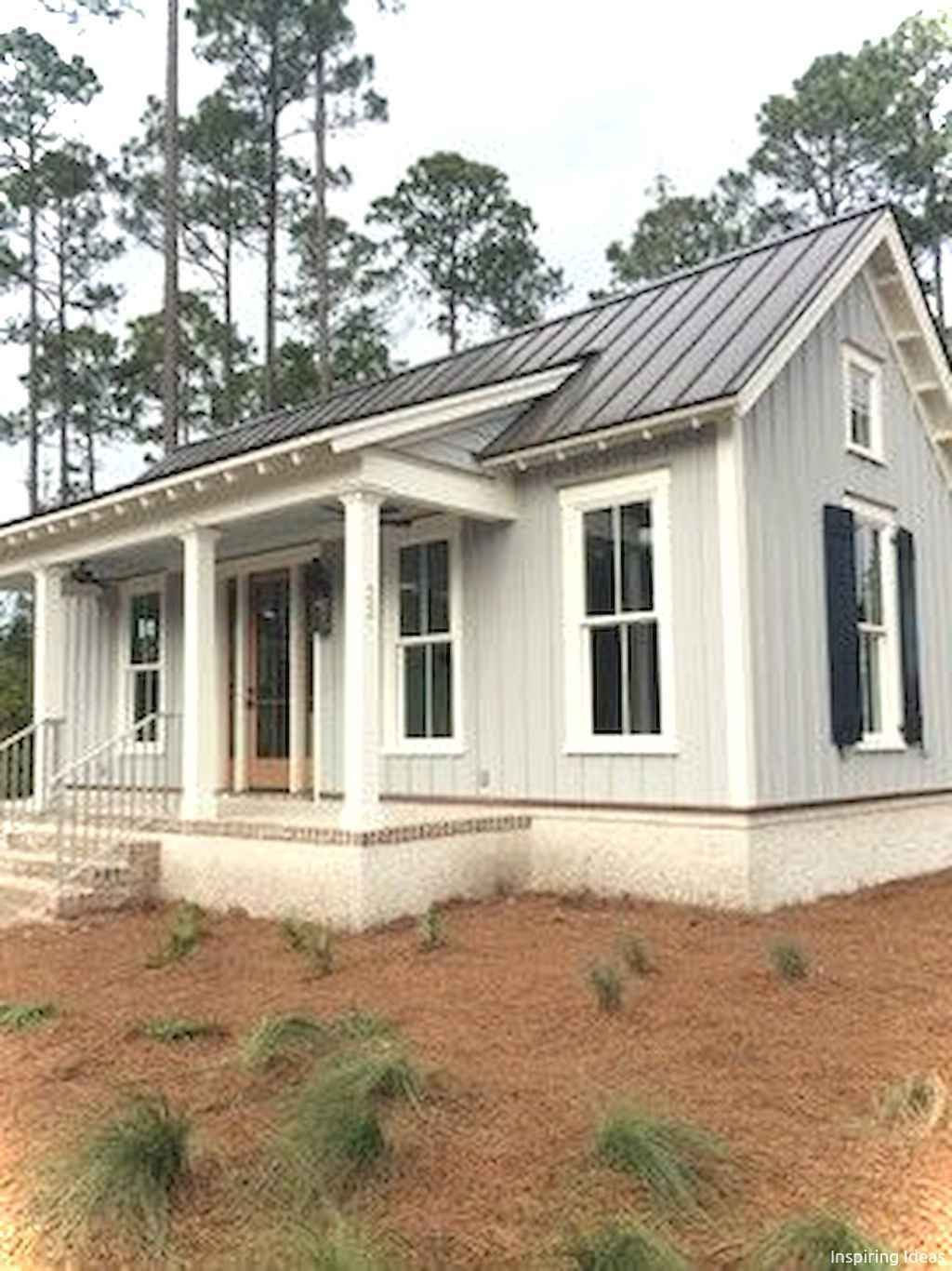27 Modern Farmhouse Exterior Design Ideas For Stylish But Simple Look Ruang Harga Cottage House Exterior Cottage House Plans Modern Farmhouse Exterior
