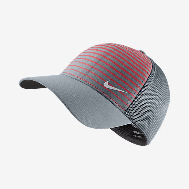 Nike Legacy Printed Mesh Fitted Golf Hat  d56dc18aaa3
