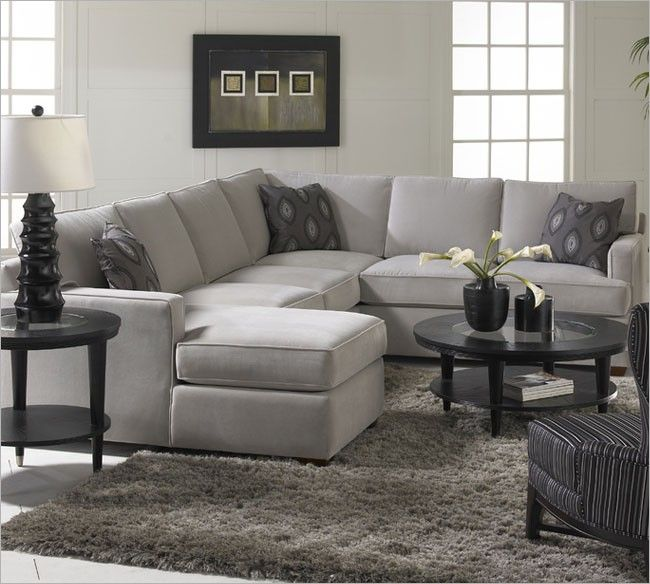 Living Room Sofa Loomis Sectional Sofa Group with Chaise Lounge by Klaussner at Kensington Furniture : sectional with chaise lounge - Sectionals, Sofas & Couches