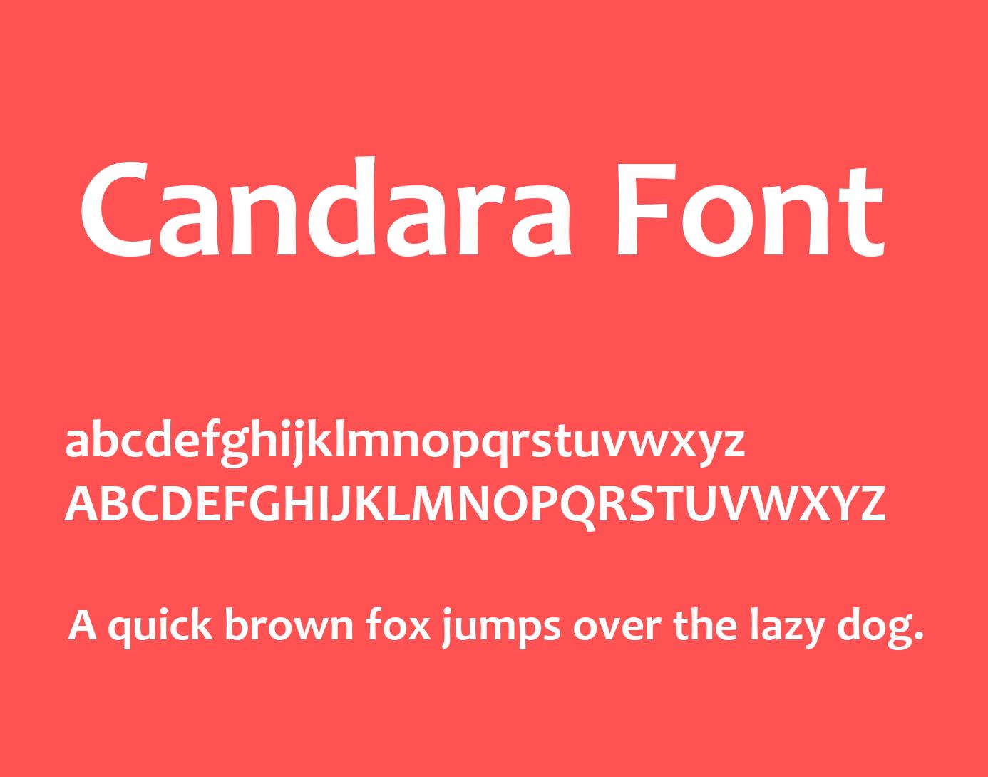 Candara Font Free Download | Fonts | Free fonts download