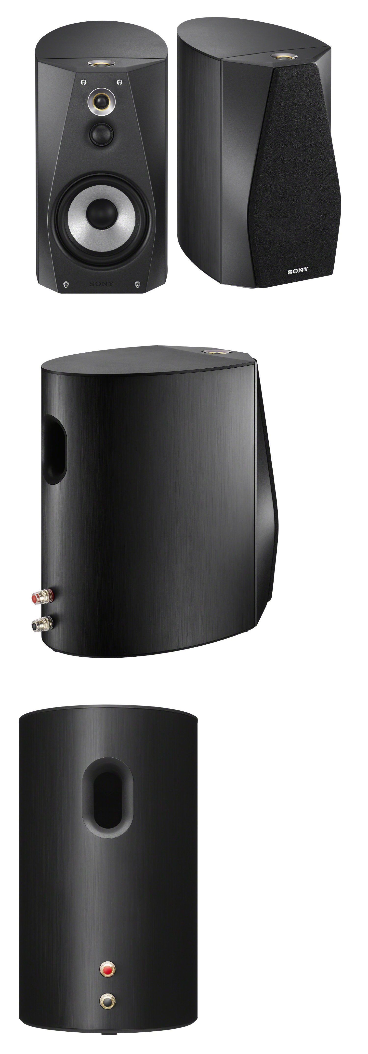 Home Speakers and Subwoofers: Sony Ss-Ha1 Speaker System - Black ...