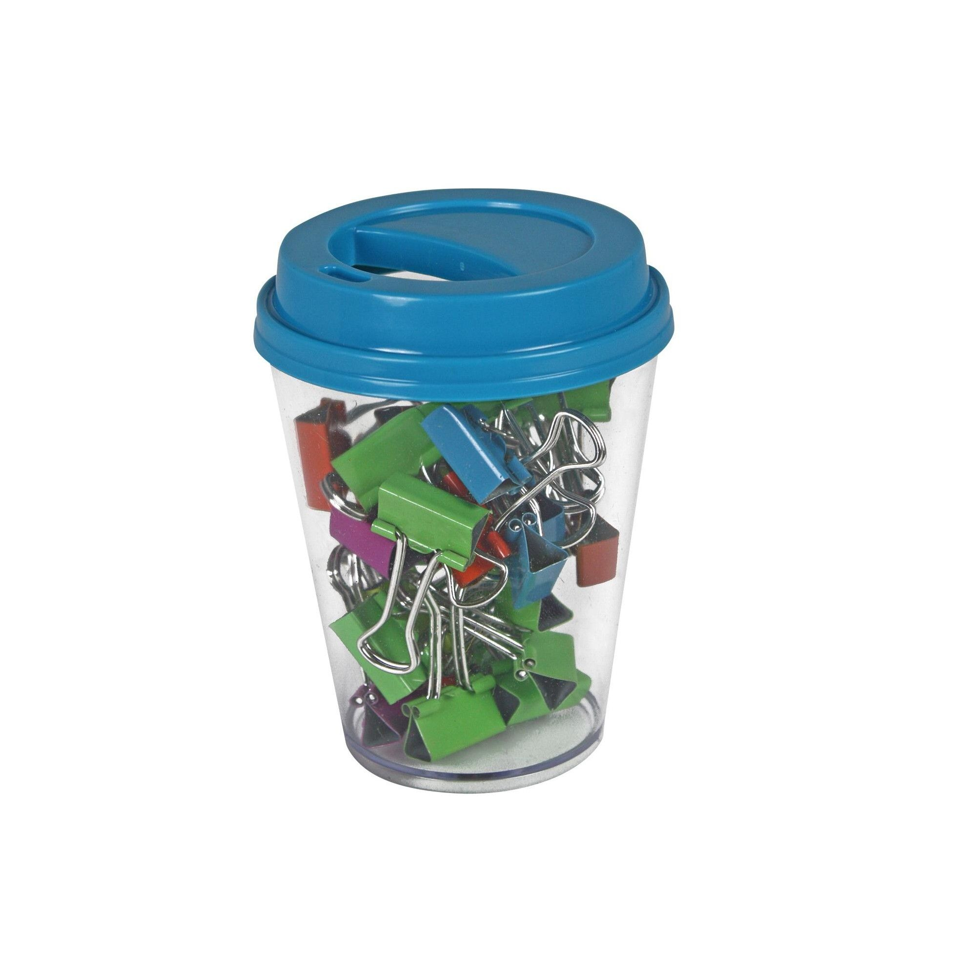 The Pencil Grip Binder Clip In Coffee Cup Supply Storage