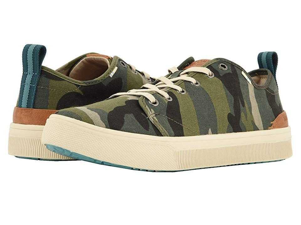 f3fa6d75f43 TOMS TRVL LITE Low (Camo Canvas) Men s Lace up casual Shoes. With every