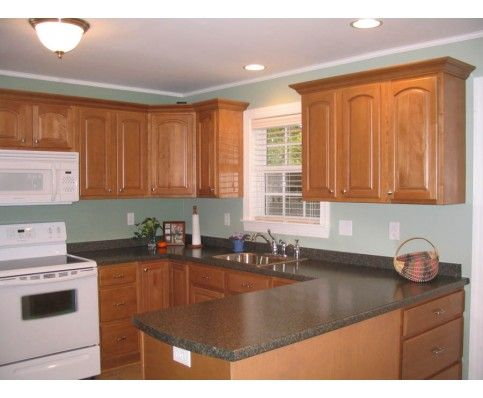 Hardware for Raised and Flat Panel Kitchen Cabinets Looks like our ...