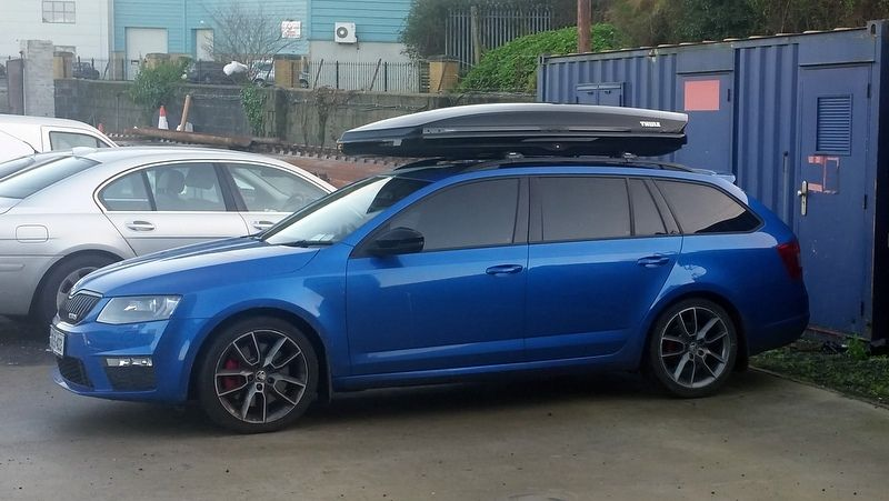 Thule Wingbar Edge 9584b Roof Bars In Combination With The Thule