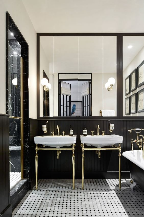 Photo of 1920s-Style Bathrooms That Inspire