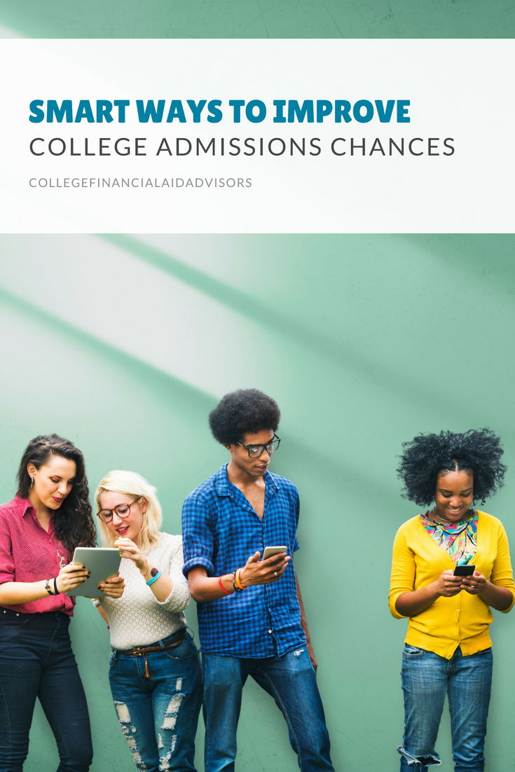 Smart Ways to Improve College Admissions Chances