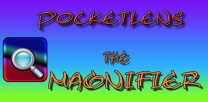 PocketLens magnifier Used cameras, Magnifier, Camera flashes