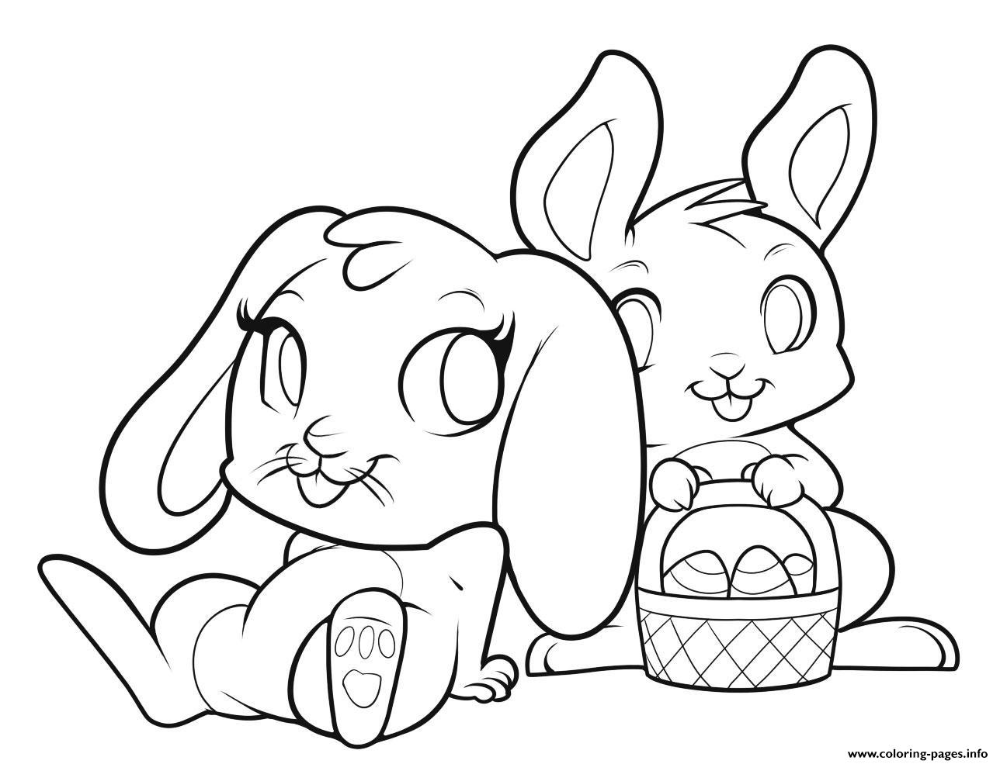 Print Easter Bunnies Cute Bunny Coloring Pages Easter Coloring Pages Easter Coloring Pages Printable Cartoon Coloring Pages