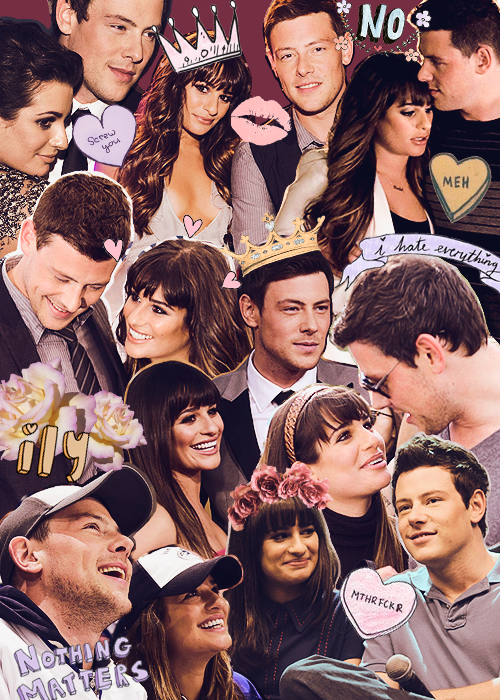 Cory Monteith Collage