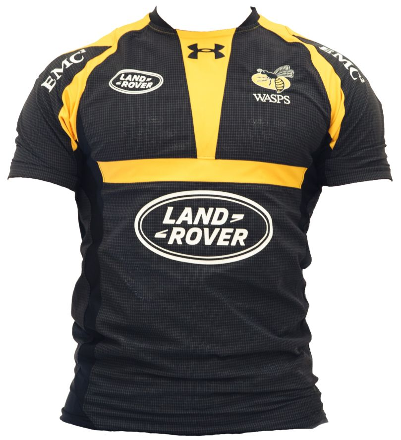 Wasps Rfc Under Armour 2015 16 Home Alternate Shirts Rugby Kit Rugby Jersey Wasps Rugby