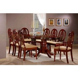 Wonderful £789.99   The Moscow Dining Table Comes As A Majestic Oval With An Elegant  Double