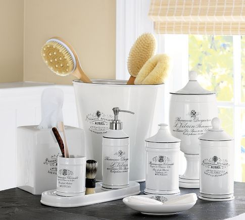 Apothecary Bath Accessories By Pottery