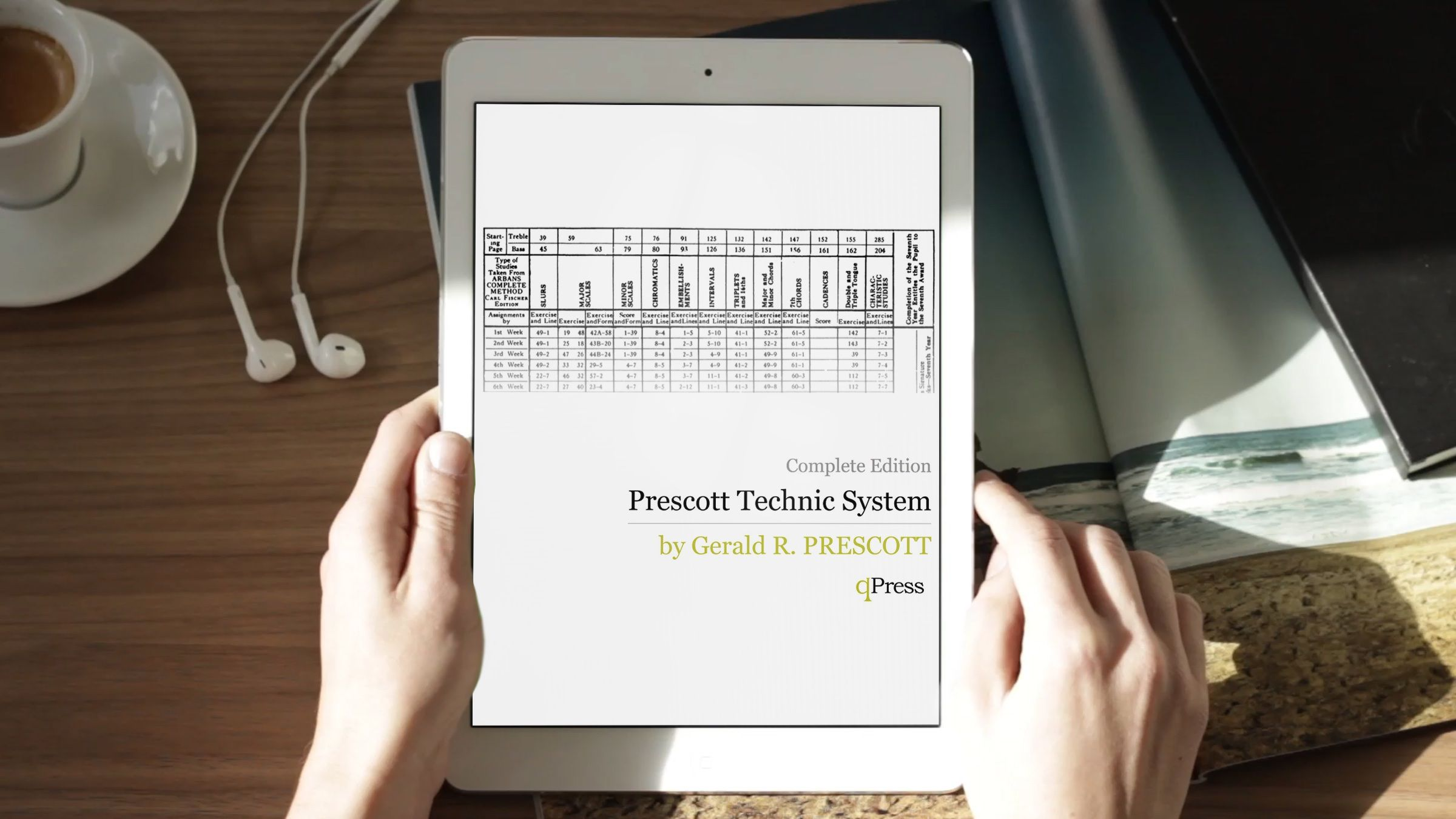 Prescott technic system for arban trumpet by prescott gerald r gerald prescotts technic system for the arban method a weekly course that spans 12 years fandeluxe Choice Image