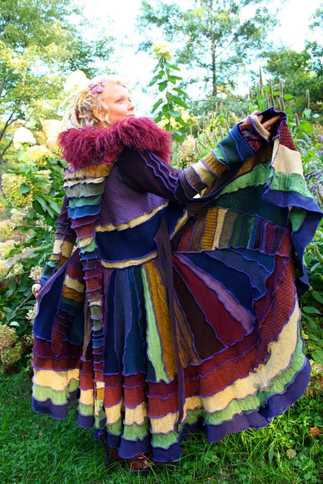 Elf Coat Pattern | Free pattern how to make a coat from felted ...