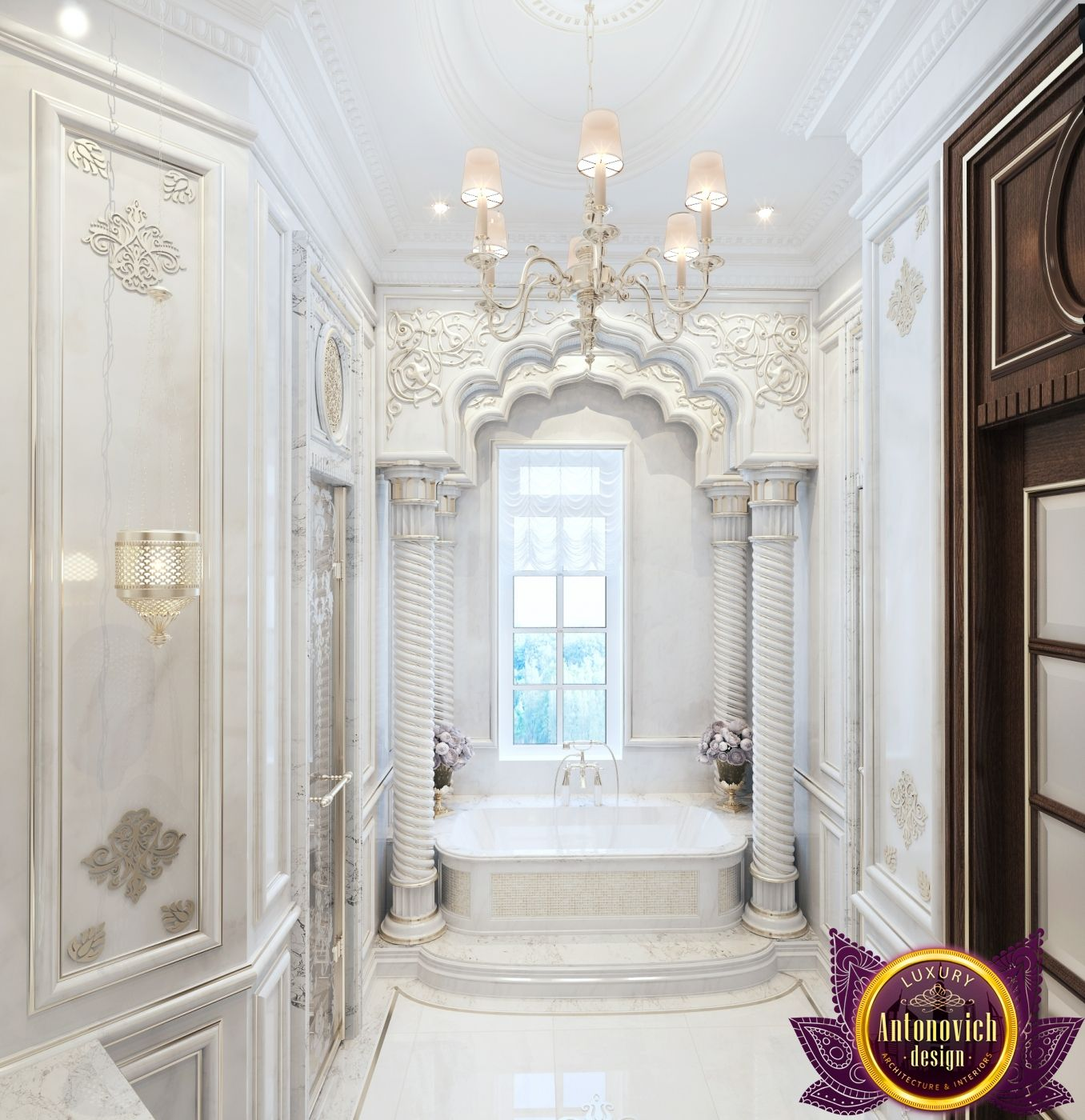 Bathroom Design In Dubai Luxury Bathroom Design Photo 2  Luxury Custom Bathroom Design Company Decorating Design