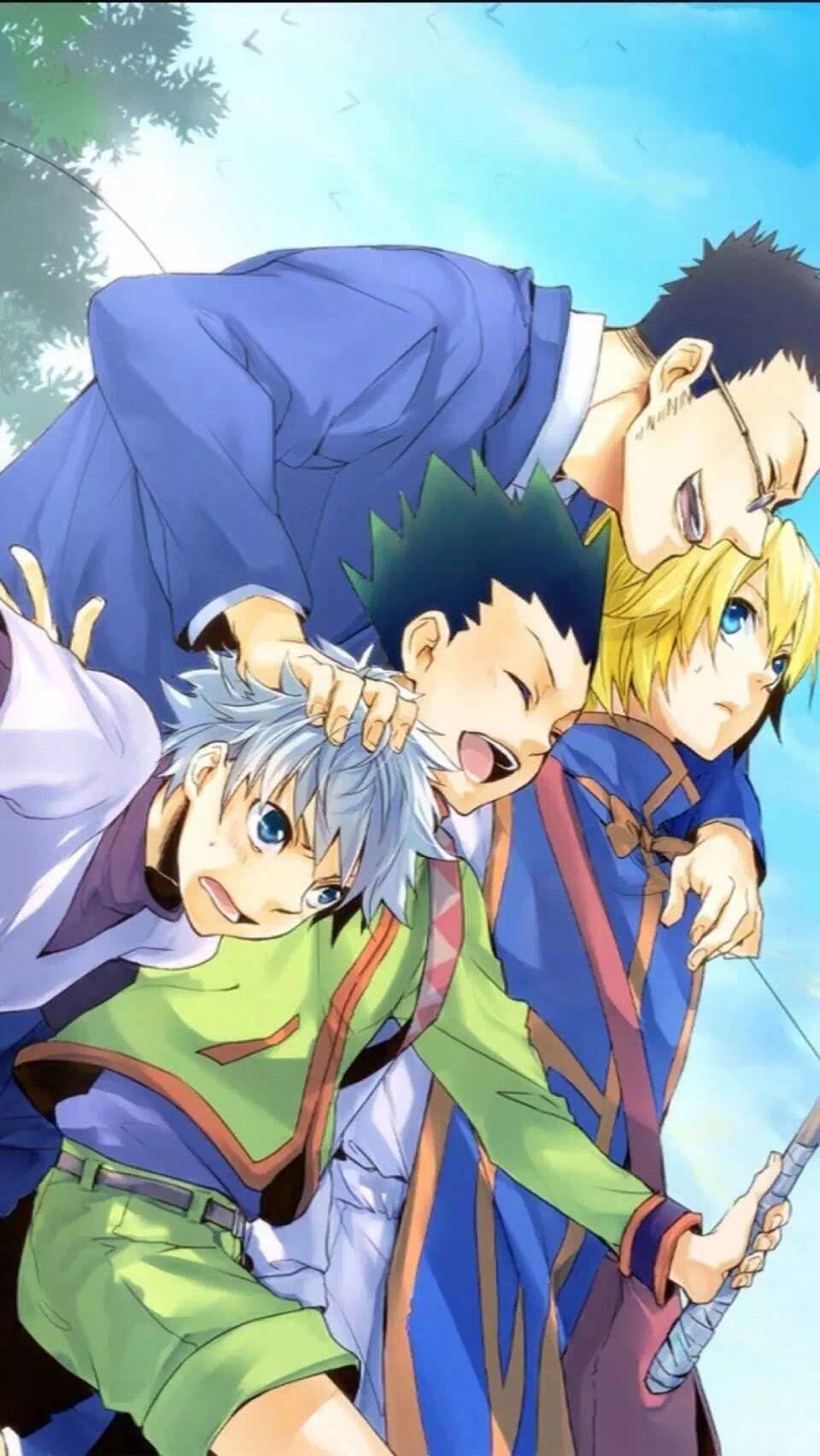 Pin von Glyph auf Anime (mit Bildern) Hunter x hunter