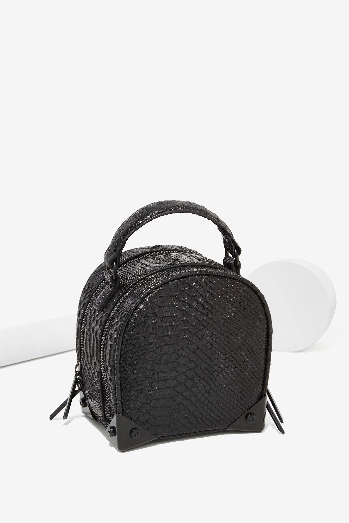 f4da972c50 Croc Stalker Vegan Leather Crossbody Bag Monederos