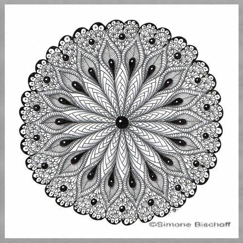 Schrift In Szene Gesetzt Mandala Malvorlagen Mandala Doodle Zentangle Muster