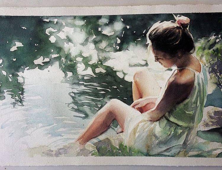 Beautiful Watercolor Paintings By Brazilian Artist Marcos Beccari