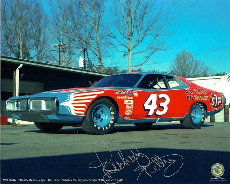 Richard Petty Bicentienial Charger From Jan 1976 Never Raced
