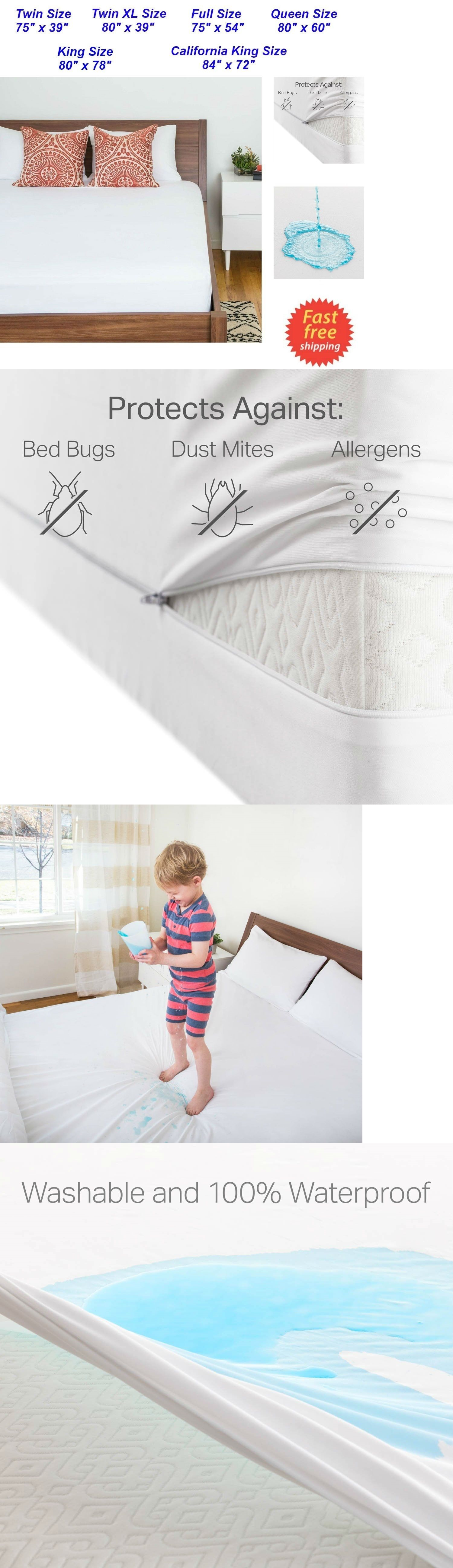 mattress pads and feather beds 175751 zippered waterproof mattress
