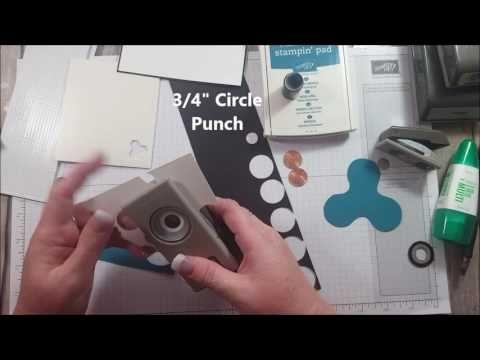 Fidget Spinner Stampin Up Card