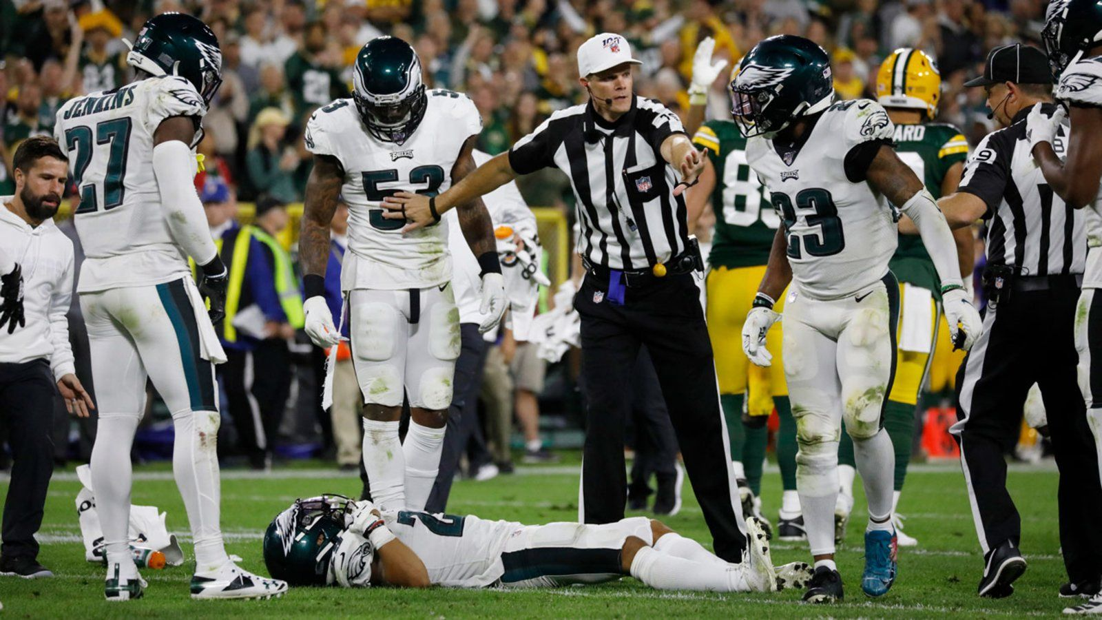 Nfl News Jalen Ramsey Trade Deal With Eagles Imminent After The Packers Game Injuries Nfl News Packers Games Jalen Ramsey