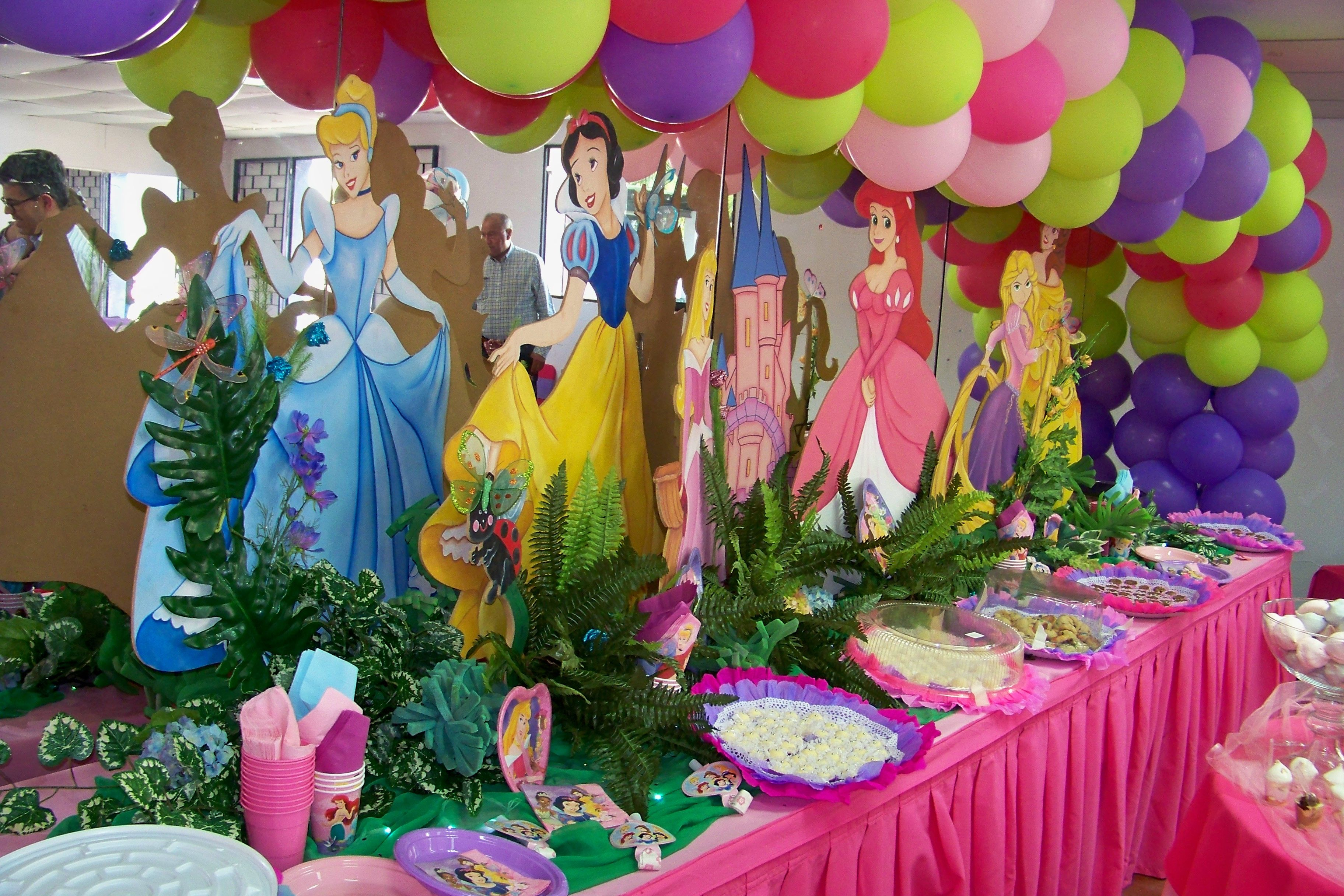 Princess Disney Party Disney Princess Party Decorations Disney