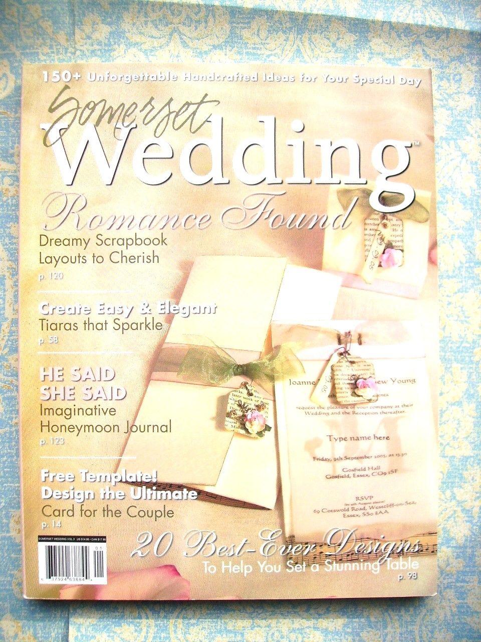 """Somerset Weddings"" Volume 3 Cover"