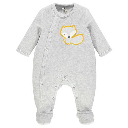 CARTER/'S BABY Pack de 2 Terry Footed combinaison//sommeil Suits