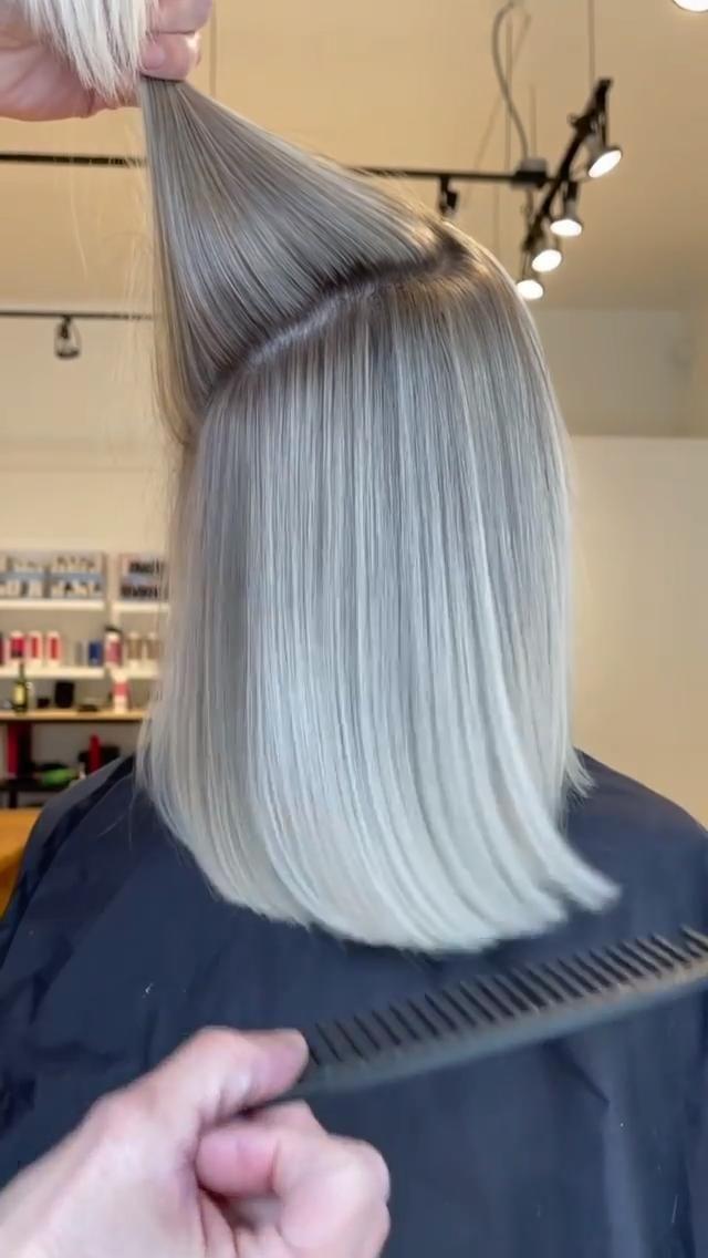 Placement for Bob Haircuts | Balayage Hair Highlig