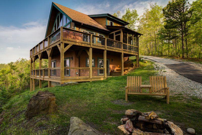 Cabin Rentals Near Bryson City Nc Pet Friendly Cabins Condos And Lofts Smoky Mountain Cabin Rentals Mountain Cabin Rentals Cabin Rentals