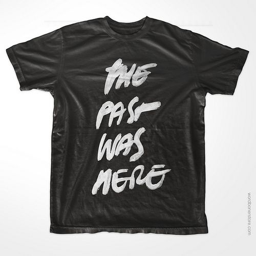 The Past Was Here | wrdbnr webstore