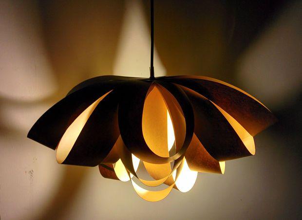 Giant Decorative Bow Paper Pendant Lamp Origami Lamp Diy Lamp Pendant Lamp