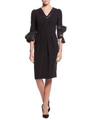 Black-evening-Dresses-Luxury-Designer-Dresses-pencil-Dress-Vintage-Dress-size-36
