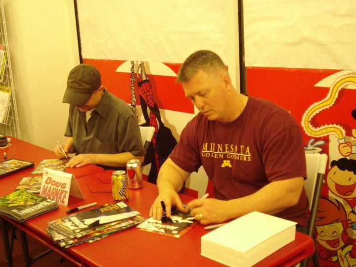 Doug Mahnke and Christian Alamy