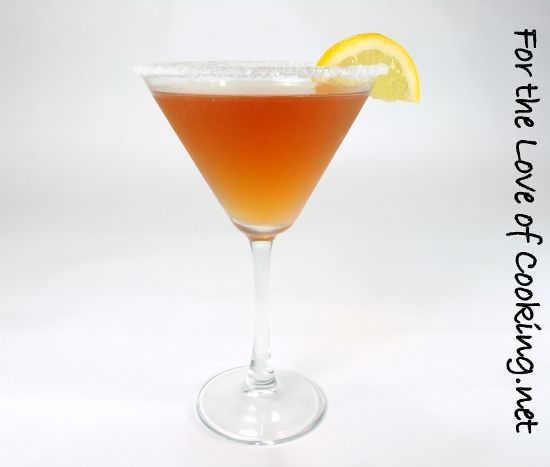 Pom-Lemon martini.