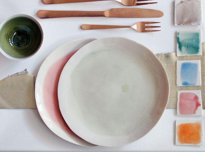 studio potomak by donatella & mauro | watercolor ceramics