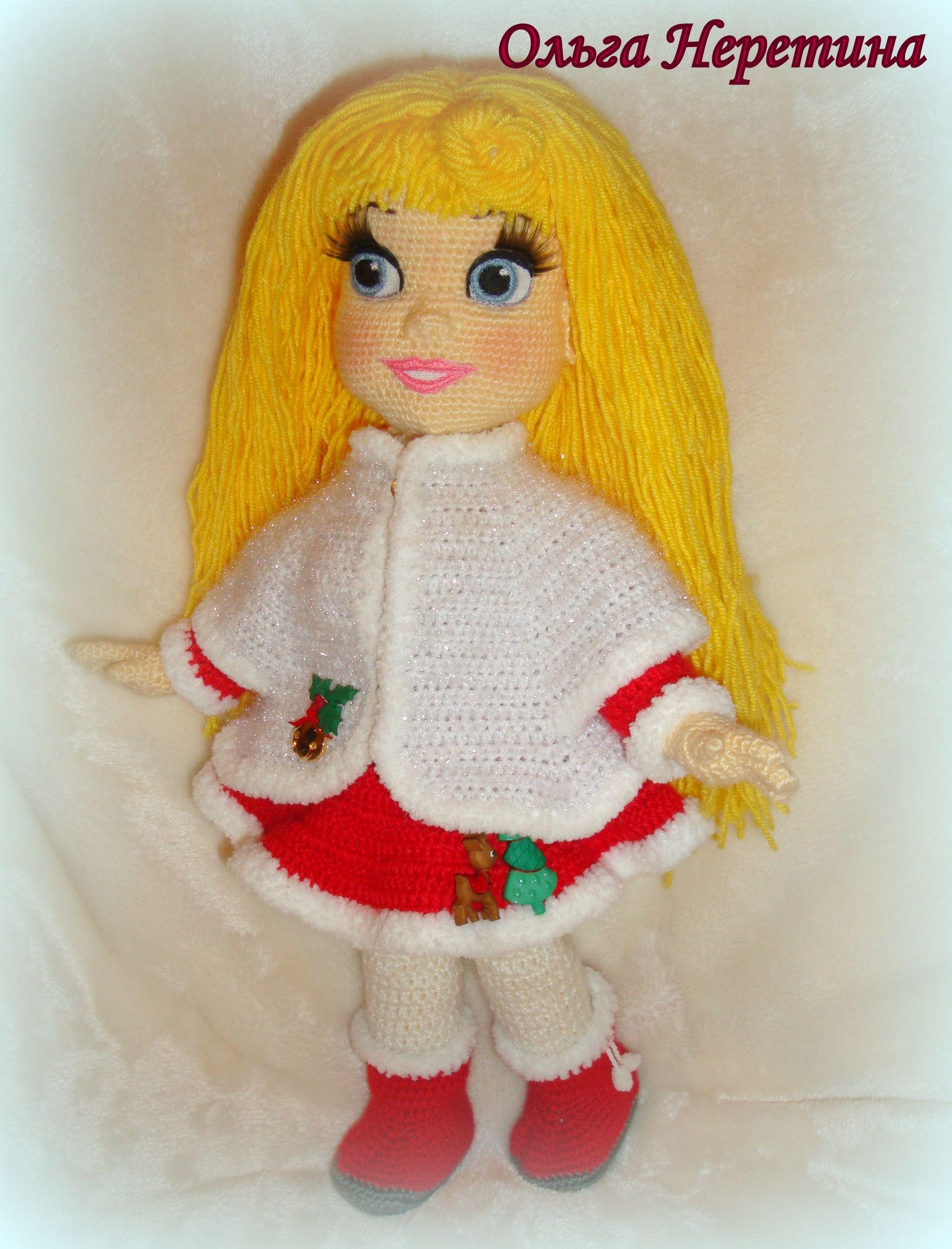 141Ольга неретина вязаная кукла мастер класс