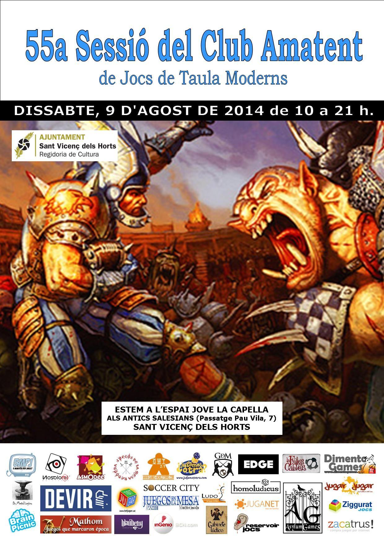 55a Sessió (09-08-2014) http://amatent.blogspot.com.es/2014/08/cronica-55a-sessio-09-08-2014.html