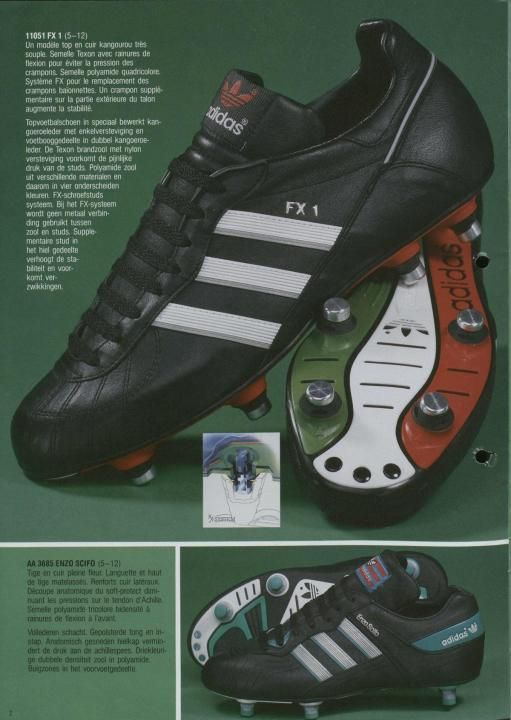 brand new 58c8f f34ee Adidas 1987 Catalogue Page