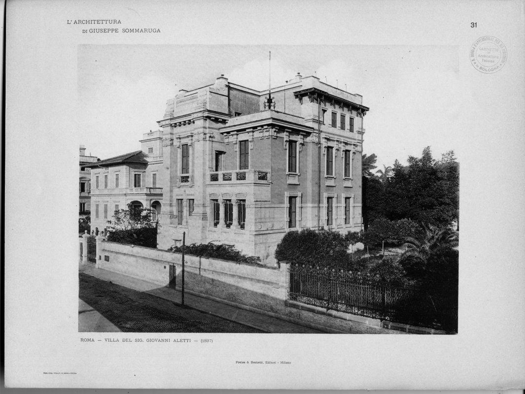 L'architettura di Giuseppe Sommaruga   Sommaruga, Giuseppe